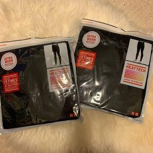 Uniqlo Extra Warm Long Johns Black Buy 1 get 2